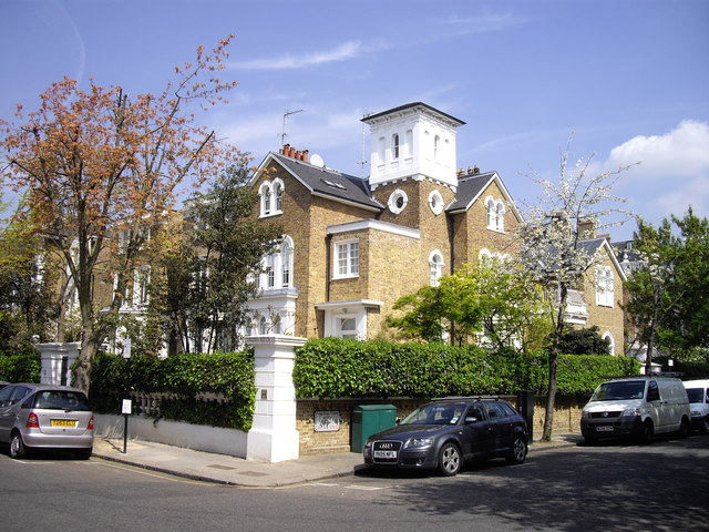 Town house in Gilston Road, Chelsea