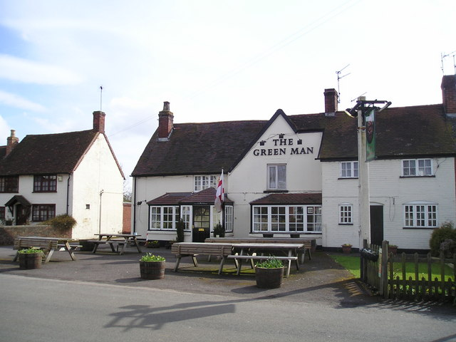 The Green Man Pub, Long Itchington, Southam