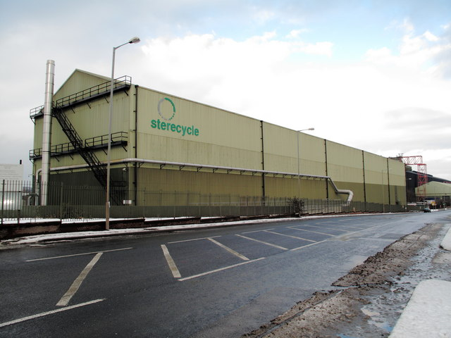 Sterecycle site on Sheffield Road, Tinsley