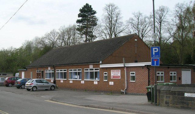 Church hall, Ironville