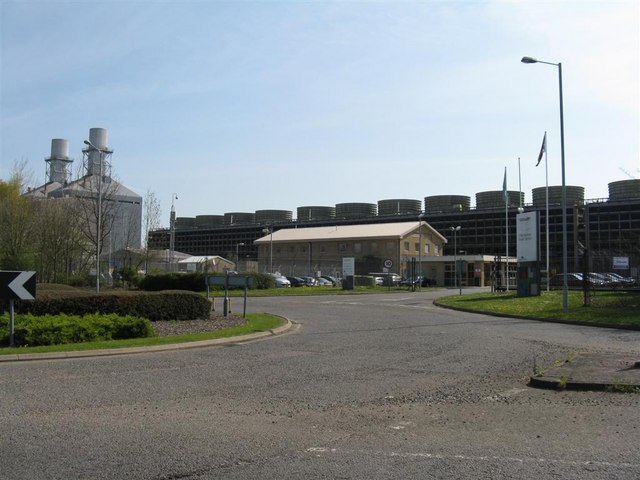 Find A Gas Station >> Little Barford Power Station © M J Richardson cc-by-sa/2.0 :: Geograph Britain and Ireland