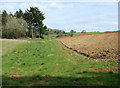 ST6564 : 2010 : Part of a ploughed field near Compton Dando by Maurice Pullin