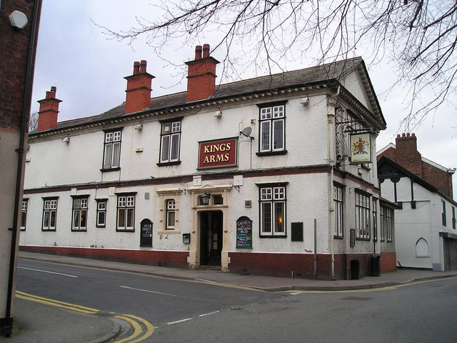 The Kings Arms Pub, Middlewich