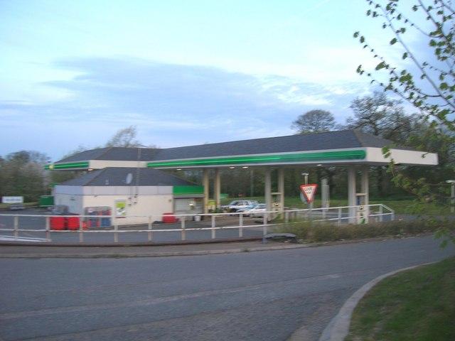 A38 Service station near Alfreton