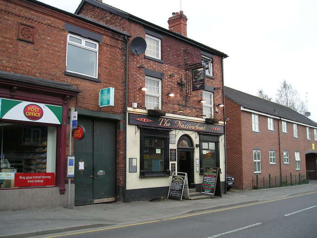 The Narrowboat Pub, Middlewich