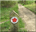 SP9809 : Public Byway sign by David Hawgood
