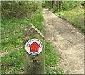 SP9809 : Public Byway sign by David Hawgood