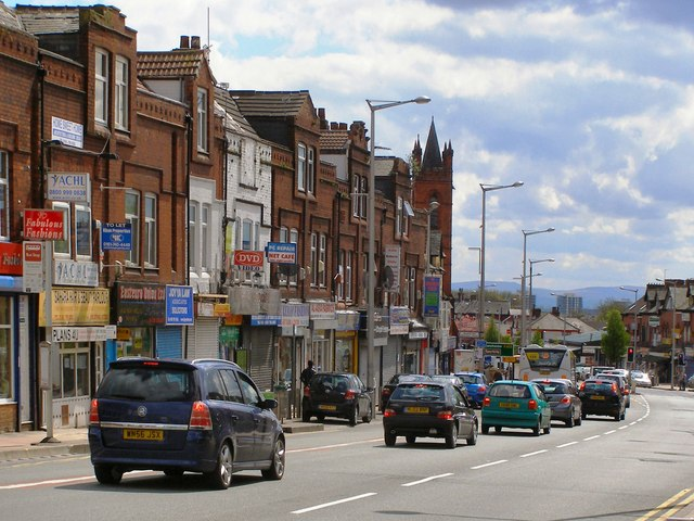 cheetham hill road david dixon cc by sa 2 0 geograph. Black Bedroom Furniture Sets. Home Design Ideas