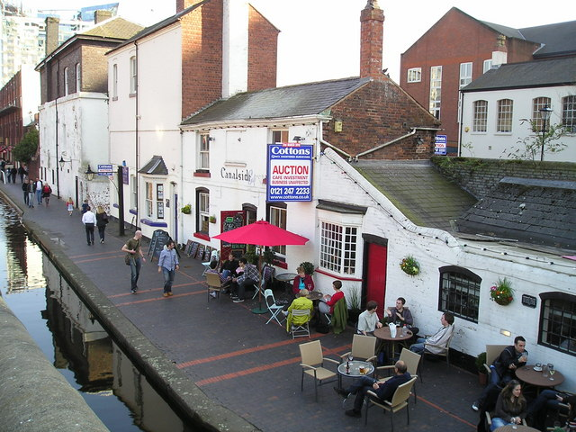 The Canalside Cafe and Pub, Gas St, Birmingham