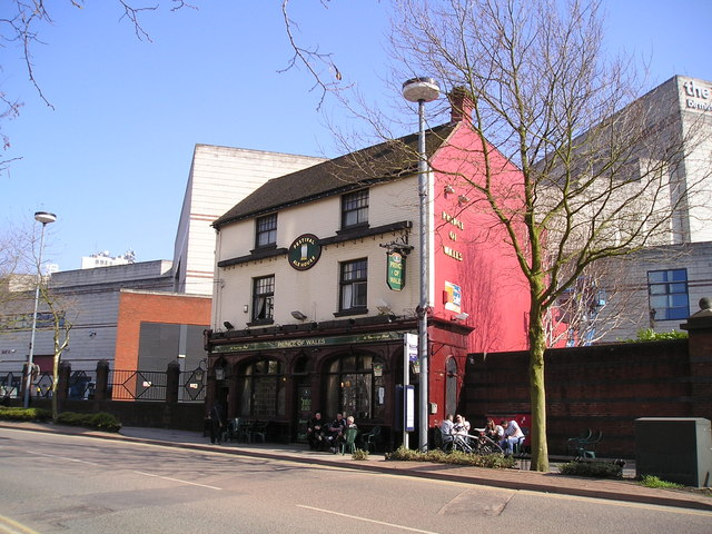 The Prince of Wales Pub, Birmingham