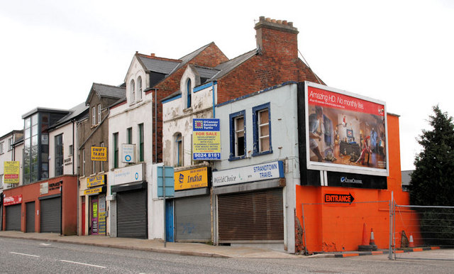 Development site, east Belfast