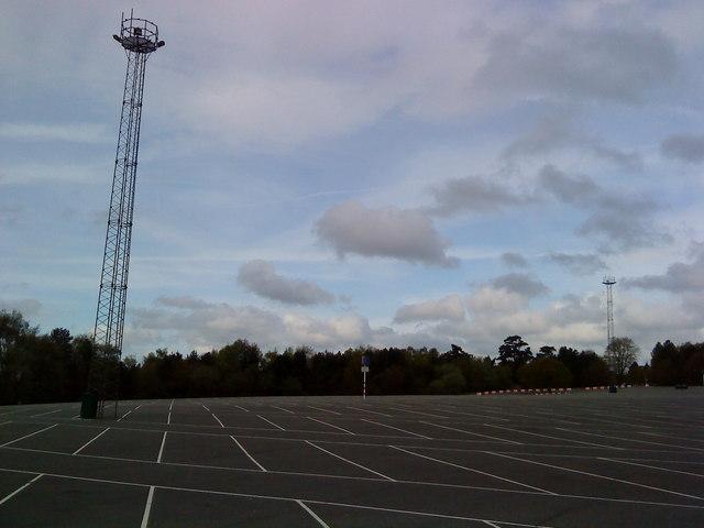 Alton Towers Car Park