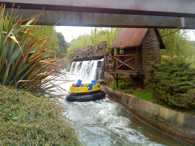 Katanga Canyon rapids at Alton Towers:: OS grid SK0743 :: Geograph ...