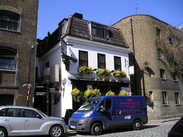 The Mayflower Pub, Rotherhithe