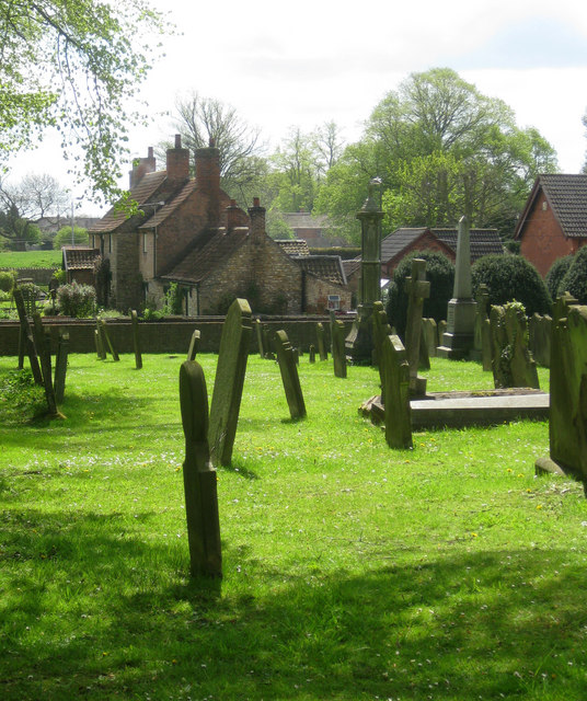 Scawby church yard