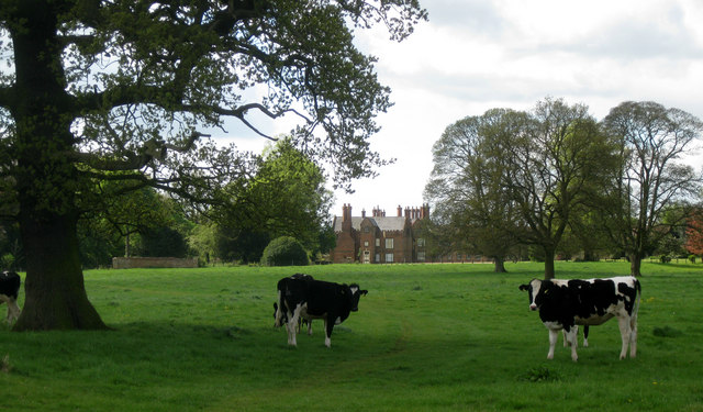 Scawby Hall and park