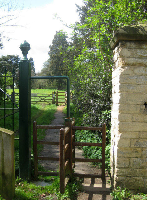 Gate to Scawby park