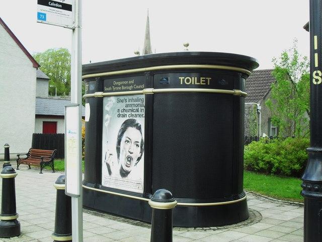 public toilet  caledon  u00a9 dean molyneaux    geograph ireland