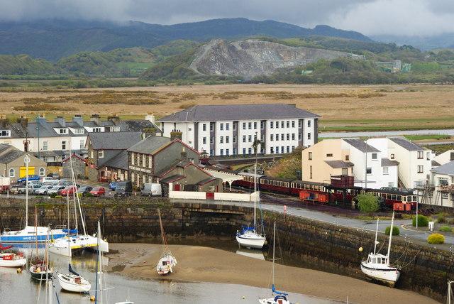 Ffestiniog Railway Harbour Station, Gwynedd