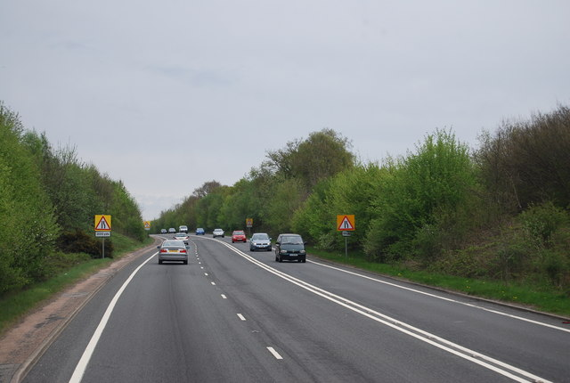 A26 climbing out of Eridge