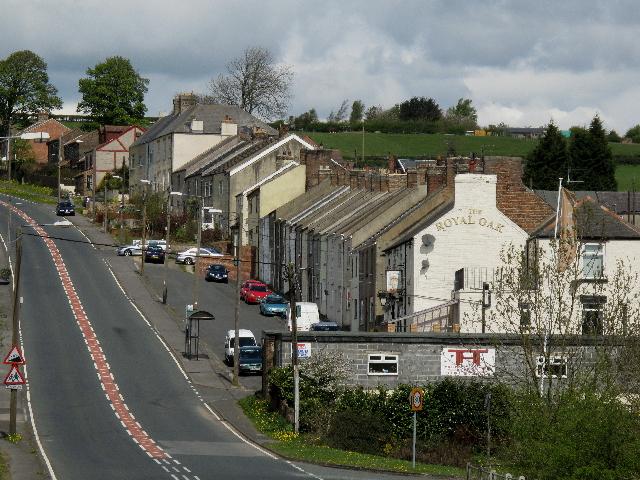 Cornsay Colliery (village)
