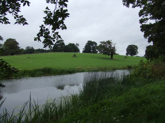 The canal at Chillington Hall