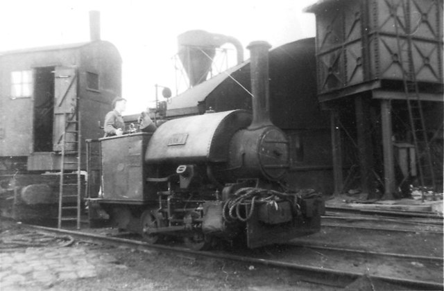 Beeston Sleeper Depot, 1959