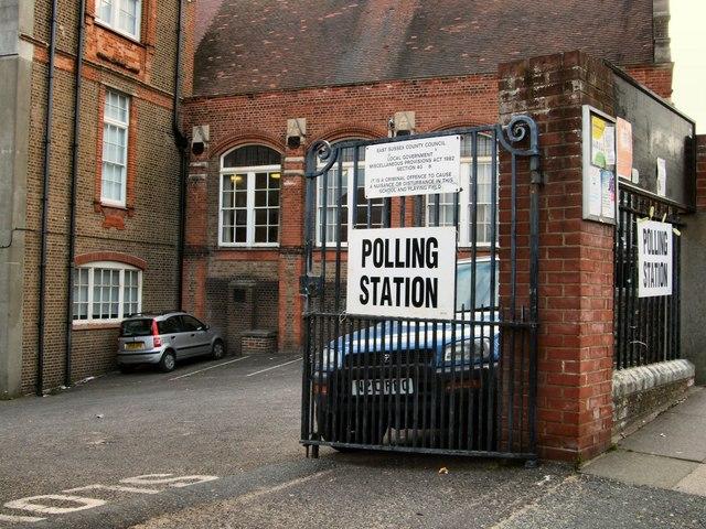 Polling Day, Brighton Pavilion