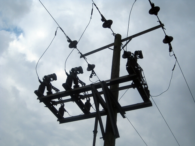 Power Line Circuit Breaker C Mike Kirby Geograph Britain And