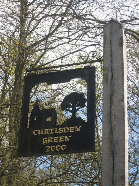 Curtisden Green Village Sign