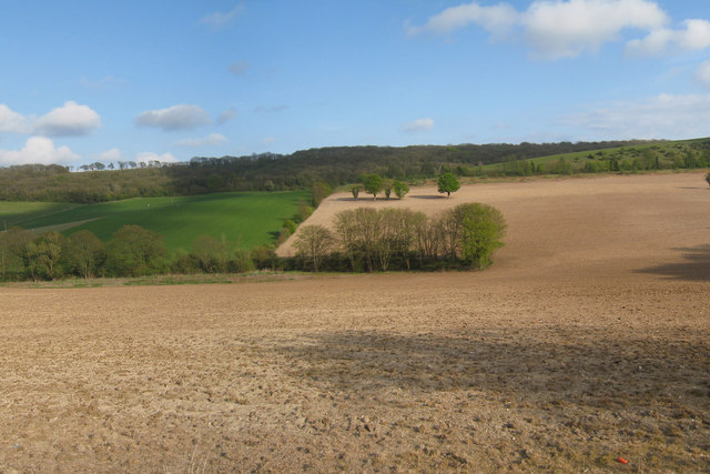 Ploughed Field in Alkham Valley