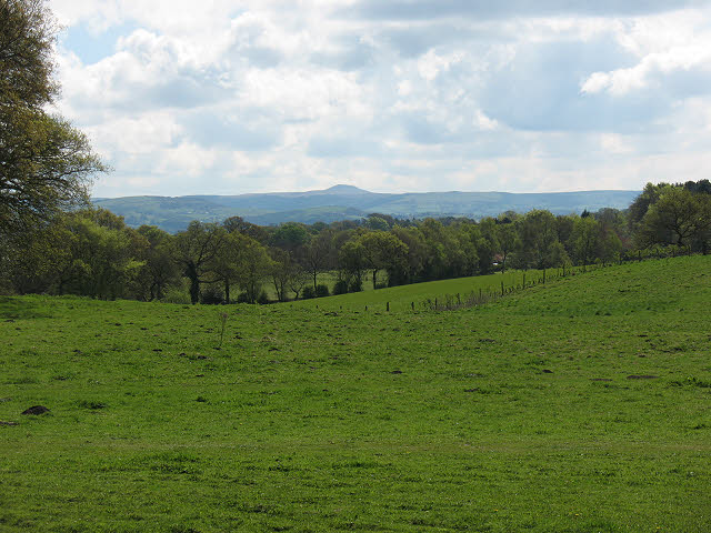 View from the car park at Alderley Edge