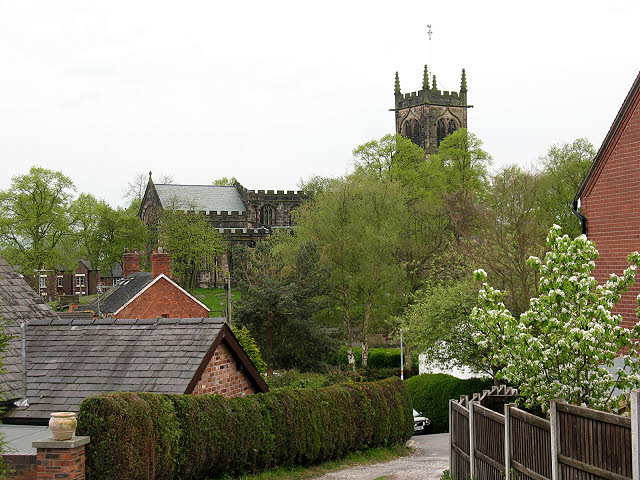 St Mary's church from the north-east