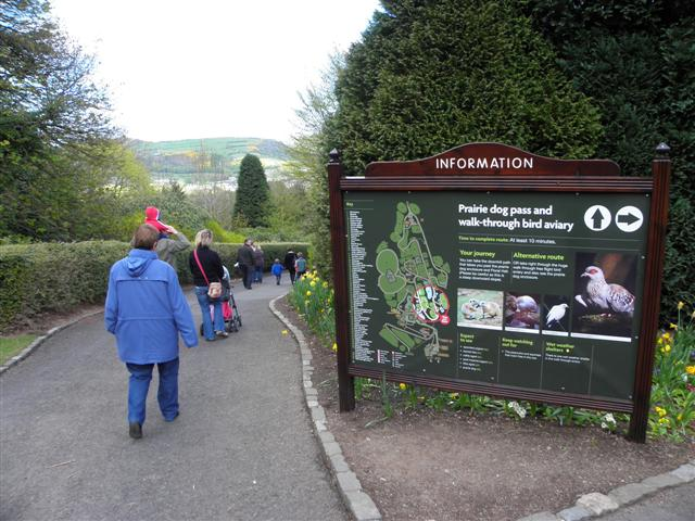 Information Board Belfast Zoo Kenneth Allen ccbysa20