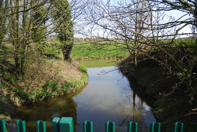 Royal Military Canal meets the River Brede