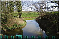 TQ9017 : Royal Military Canal meets the River Brede by N Chadwick
