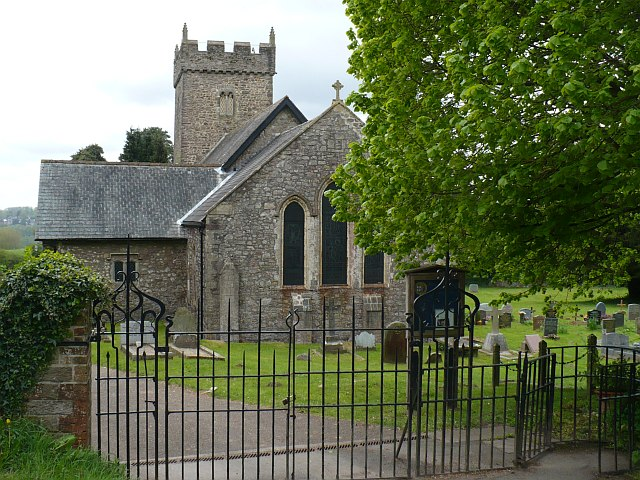Entrance to St Michael's churchyard, Michaelstone-y-Fedw