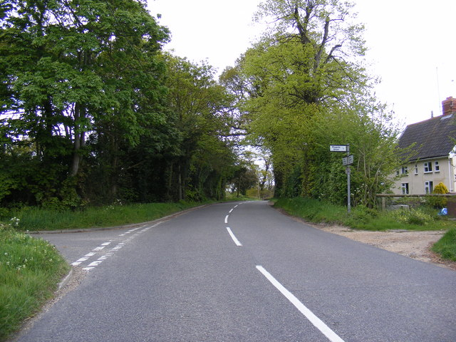 B1116 Laxfield Road