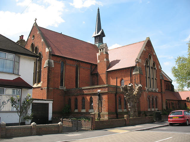 St Mark's church, Mitcham