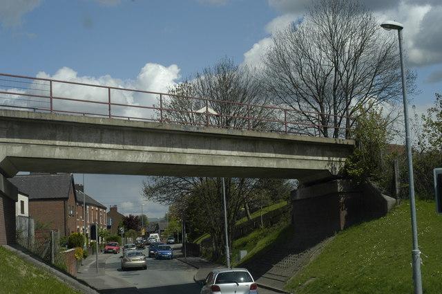 Bridge over Pilsworth Road