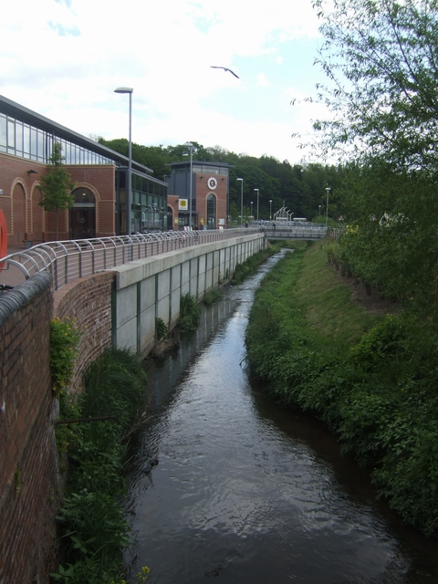 River Stour - Grosvenor-Woodward mill site