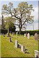 SU1401 : Graveyard on north side of St Paul's Church, Bisterne : Week 19