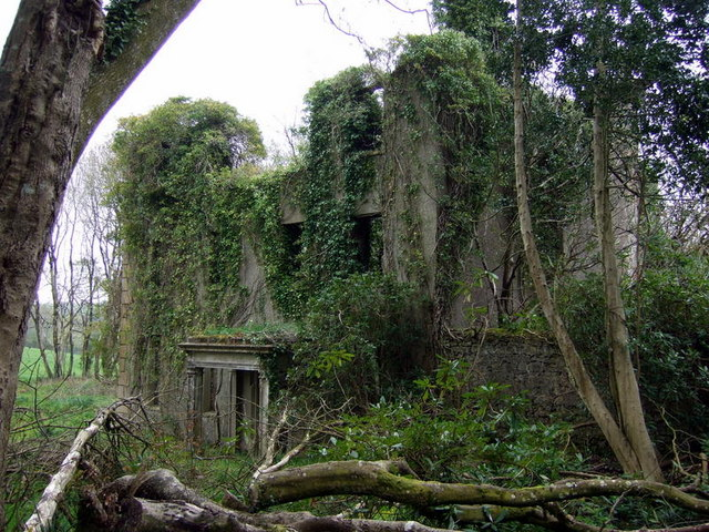 Ruins of llanstinan house c ceridwen geograph britain for Old age home landscape design