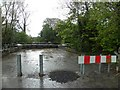 H3419 : Road closed, Aghalane by Kenneth  Allen