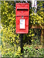 TM2869 : Bell Corner Postbox by Adrian Cable