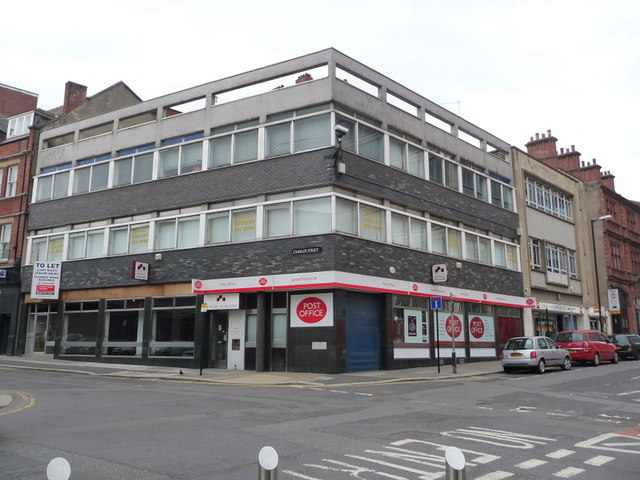 Sheffield norfolk street post office chris downer cc by sa 2 0 geograph britain and ireland - Great britain post office ...