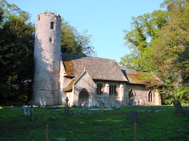 St Mary's church in Cranwich
