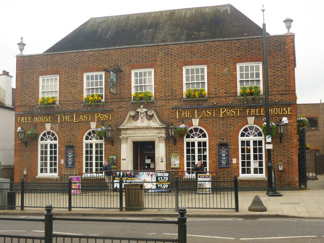 """The Last Post"", High Road, Loughton"