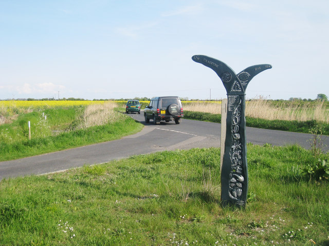 National Cycle Network 2 Milepost