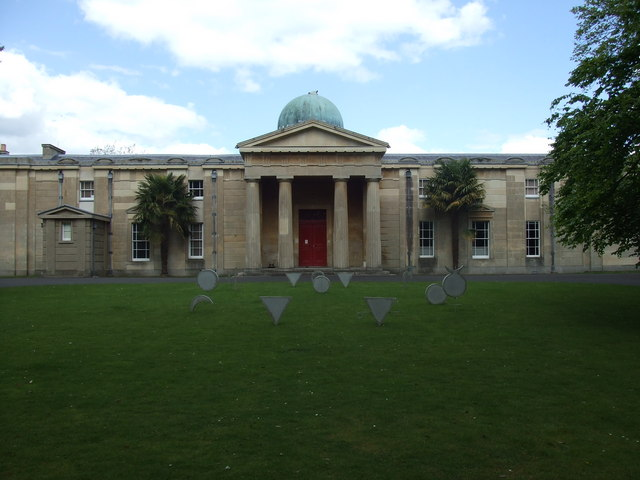 Untitled sculpture by Jessica Dolby on Observatory lawn